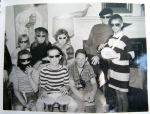 Several folks asked about my brother Tom. Sadly, he passed away in 1992.  I love this picture of his 'Beatnik Party.'