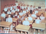 Miss McCorkadale's Third Grade Class at Tokeneke (1957). She was one of my favorites! Robin R. is in the front row on t