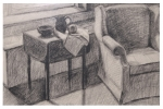 Beverly Madden . . . . . . .  chair, charcoal