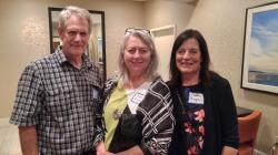 Jerry Holway, Pam Dance, Cathy Bagnal Shimmel